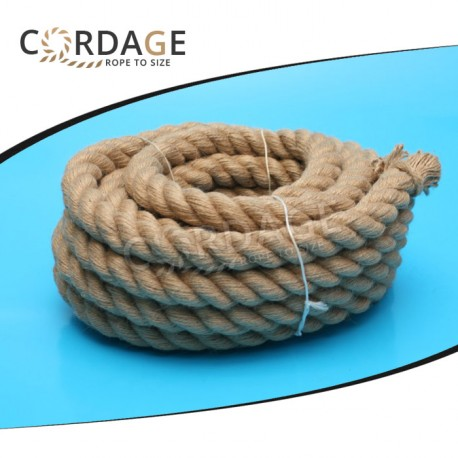 JUTE ROPE ∅40mm / 20m (fi40/20) - Cordage eu - Rope to size