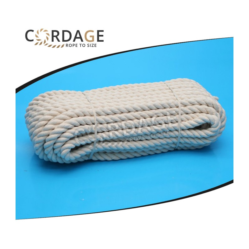COTTON ROPE ∅40mm / 5m (fi40/5m) - Cordage eu - Rope to size